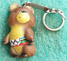 MISZA OFFICIAL MASCOT OLYMPICS MOSCOW 1980 - OLD KEYCHAINS