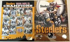 New Pittsburgh Steelers Photofile Super Bowl XL 40 Team 8x10 Photo/Poster+Bonus!
