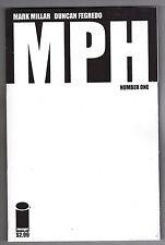 MPH #1 BLANK VARIANT COVER - MARK MILLAR SCRIPTS - DUNCAN FEGREDO ART - 2014