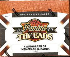 2009-10 Panini Threads Basketball Hobby Box  Blake Griffin  Stephen Curry RC ???