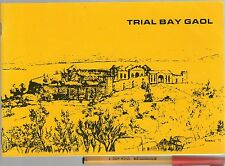 TRIAL BAY GAOL NSW C19th PENAL SETTLEMENT & WW2 Internment Camp 20pg EC