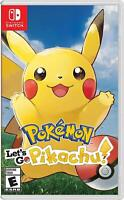 Pokemon Let's Go Pikachu - Switch NEW FREE US SHIPPING