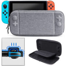 Slim EVA Hard Travel Carry Case Storage Bag For Nintendo Switch Console Gray