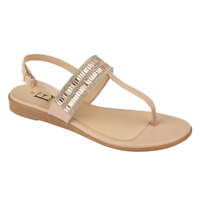 Womens Sandals Shoes By Emma PAMPUS NUDE Buckle Sling Back Size 3-8 New In Box