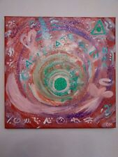 Original Painting with Etherium Gold & Sedona red rock- Multi-dimensional - 39