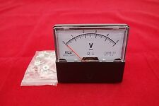 AC 0- 5V Analog Voltmeter Analogue Voltage Panel Meter 60*70MM directly Connect