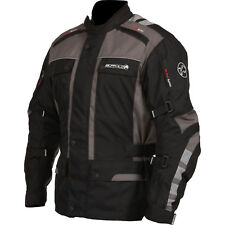 NEW BUFFALO 'SONAR' 100% WATERPROOF / ARMOURED TEXTILE JACKET SMALL RRP £119.99