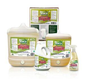 Euca Smell Expel neutraliser Deodoriser disinfectant cleaner - NEW Eucalyptus