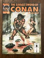 THE SAVAGE SWORD OF CONAN THE BARBARIAN #177 MARVEL 1990 COPPER AGE COMIC