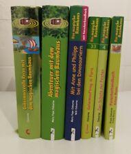 6-tlg. Konvolut - DAS MAGISCHE BAUMHAUS + Forscherhandbuch + Sammelband
