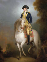 Oil painting male portrait  President of America George Washington Hand painted