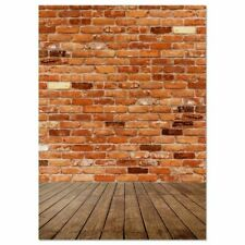 4.9 x 7.2 Ft Photography Backdrop Brick Background for Studio Booth Photo Party