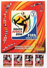 Panini WM 2010 - Leeralbum Deutsche Version + Set Klose Salto Coca Cola - NEU