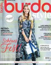Burda Style Magazin Zeitschrift 3/2018