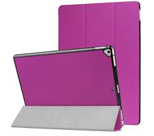 "Ultra Thin PU Leather Smart Cover Stand Case Sleep Wake for iPad Pro 12.9"" 2017 Purple"