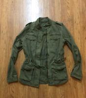 Lucky Brand Casual Army Green Utility Jacket  Sz XS