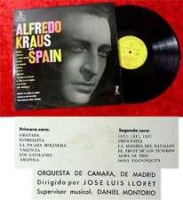 LP Alfredo Kraus Of Spain