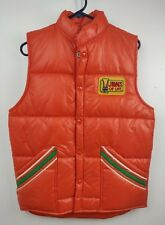 Vintage Jaws of Life Puffer Vest by Upstream New Old Stock Small w/ Patch & Tags