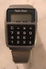 NOS Rare Radio Shack 63-5021 LCD Alarm / Calculator ,Calendar Wrist Watch