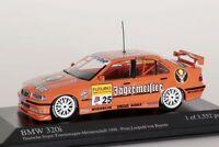 BMW 320i STW 1998 Jägermeister Team Isert, Prinz Leopold Minichamps 1:43 NEU/OVP
