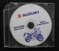 "2004 SUZUKI ""NEW MODEL"" INTRUDER MARAUDER MOTORCYCLE TECHNICAL UPDATE MANUAL DVD"