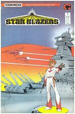 Star Blazers #1> Comico 1987 - From The Animated Tv Series> Vf/Nm> Bg'd & Brd'd