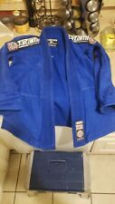 Tatami fightwear youth Size M1 Gi Set top and bottoms blue color