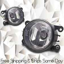 Clear Fog Lamps pair w/ Wiring Kit Fits Mitsubishi 06-12 Eclipse 07-12 Outlander