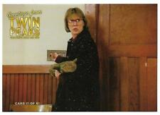TWIN PEAKS GOLD BOX DVD POSTCARD #11 CATHERINE COULSON  AS THE LOG LADY