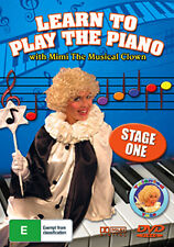 LEARN TO PLAY THE PIANO WITH MIMI THE MUSICAL CLOWN (STAGE 1) KIDS LEARNING DVD