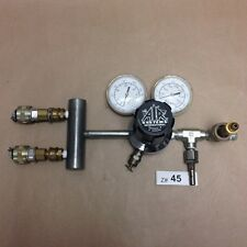 Air Systems 08A0C12V REG-3000 Gas Regulator, max inlet 3000 psi, with fittings