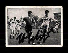 Hans Schäfer DFB Kiddy Sammelbild WM 1954 Original Signiert+ A 150222