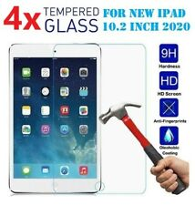 [4-Pack]Tempered GLASS Screen Protector for Apple iPad 10.2 7 / 8 Gen 10.2 inch