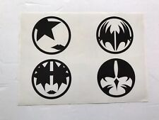 KISS LAPTOP IKONS STICKER.RARE HARD TO FIND.WAS IN AN IMPORT MAGAZINE.KISS ARMY
