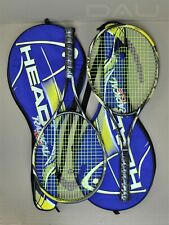 *HEAD Radical Tour 690* Agassi racket Made in Austria in cover Excellent PAIRED
