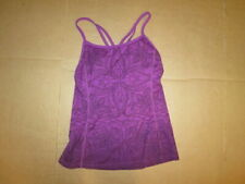 Womens ATHLETA athletic tank top w/ built in padded sports bra XS  running yoga