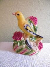"VINTAGE CARNIVAL GAME PRIZE  CHALK WARE BIRD 8"" X 10.5"" MARKED BOTTOM JULY 1959"