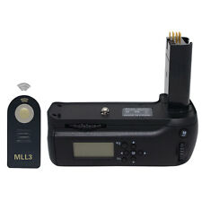 MeiKe MK-D80L LCD Battery Grip for Nikon D80 D90 MB-D80 With Remote Control