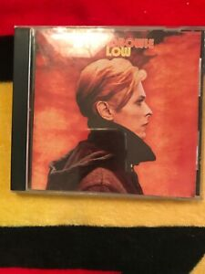 David Bowie Low US 1991 Rykodisc CD Reissue With Three Bonus Tracks