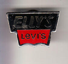 RARE PINS PIN'S .. MODE FASHION JEANS LEVI STRAUSS LEVIS LEVI'S ELLY'S SHOP ~CF