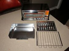 NOS! General Electric TOASTER OVEN~TOAST N BROIL USA model A33126 714 PERFECT!