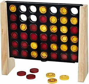 NEW HASBRO CONNECT 4 RUSTIC EDITION CLASSIC GAME C2316