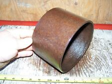 "Cast Iron Belt Pulley Hit Miss Gas Engine Motor Steam Magneto Pump 1 1/8"" Bore"