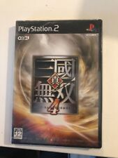 PlayStation 2 PS2 Shin Sangokumuso 4 /ntsc/jap/new /neuf