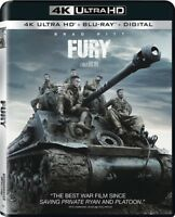 Fury [New 4K UHD Blu-ray] With Blu-Ray, 4K Mastering, Ac-3/Dolby Digital, Digi