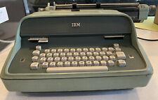 Vintage 1964 IBM Model C Electric Typewriter - Green - TESTED - Cool Retro Charm