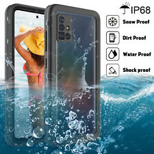 For Samsung Galaxy A51 Waterproof Slim Full Cover Case Built-in Screen Protector