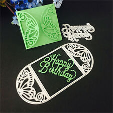 Envelope Stencil DIY Cutting This Scrapbooking Album Diary Stamping Template set