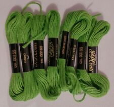Lime Green Embroidery Floss B