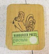 Vintage Hamburger Press